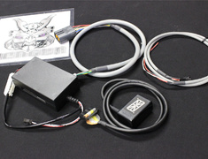 Skyline - R32 GTR - BNR32 - OS-88 Kit - 13 - Indicator Unit, 18 - Connect Cable, 19 - Black Box, 20 - Sensor Cable + Indicator K