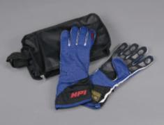 Universal - M BL/BK - Color: Blue & Black - Size: Medium - HPCGGL02M