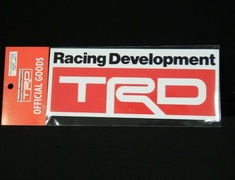 Toyota - TRD sticker b type 78x190mm - 08231-SP011-B3