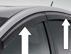 Prius - ZVW40 - Side Visor Set - SS