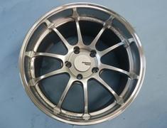 Advan Racing RZ-DF Machined & Racing Hyper Silver