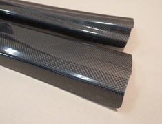 RX-7 - FD3S - Wet Carbon Scuff Plates - IP-022030-052