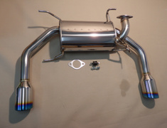 Swift S - ZC32S - M16A - 10190711 - Suzuki Swift CBA-ZC32S Double 60 mm -60 mm ×2 -Tail 102 mm ×2 With Center Pipe
