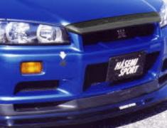 Skyline - R34 GTR - BNR34 - Nissan - Skyline - R34 GTR - BNR34 - Bonnet Front Lip