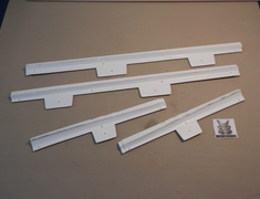 Side Skirts Lexus GS350 Side skirts FRP