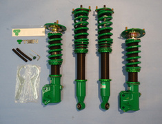 Lancer Evolution X - CZ4A - Front Spring: 9kg/mm - Rear Spring: 7kg/mm - Upper Mounts: Camber Adjust + Rubber - GSE18-71SS4