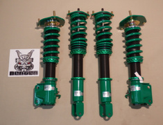 Lancer Evolution IX - CT9A - Front Spring: 12kg/mm - Rear Spring: 10kg/mm - Upper Mounts: Camber Adjust + Rubber - GSR52-71SS4