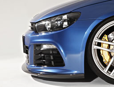 Scirocco R - 13CDL - Front Lip Spoiler - Material: Carbon - 6421