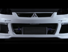 Colt Ralliart Version R - Z27AG - Front bumper with day running lights - Material: FRP - Color: Unpainted - 60131