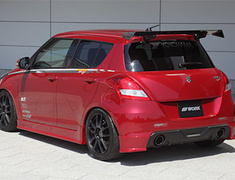 Swift Sport - ZC32S - 3 Piece Set: Front Half Spoiler + Side Steps + Rear Under Fin - Construction: Carbon - SLRSA-ZC32S-3PSCAR