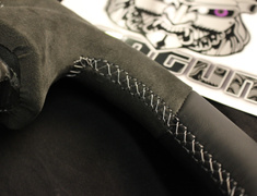 Skyline GT-R - BNR34 - Color: Grey Stitching - Material: Alcantara - BNR34