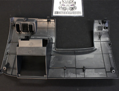 #17 - 77301-S04-000ZB Cover Instalment Driver Lower