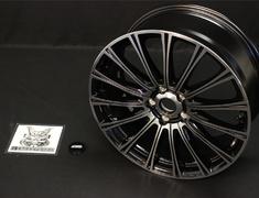 "Honda - Colour: Black Mirror Face - Size: 19"" - Width: 8J - Hole: 5H x 114.3 - Offset: +55 - 42700-XML-980A-"