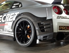 Top Secret - Nissan R35 Rear Over Fender