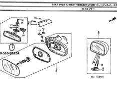 Honda Beat - PP1