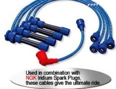 NGK - Mitsubishi Spark Plug Power cables