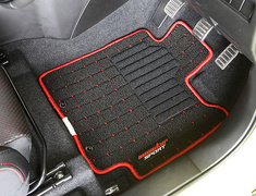 Swift - ZC83S - Color: Black / Red - Stitching: Red - Quantity: 5 - 894550-7600M