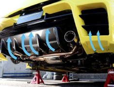 Swift Sport - ZC32S - Rear Bumper Diffuser - TMDF-A01401