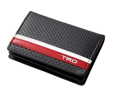 08798-SP032 Card Case White &  Red Line