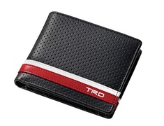 08798-SP034 Wallet White & Red Line