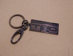 08235-SP044 Key Ring Metal Black