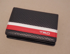 08798-SP032 Card Case White and Red Line