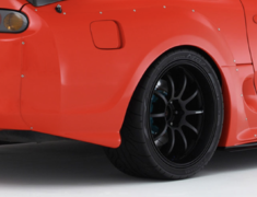 Supra MKIV - JZA80 - Rear Wide Fender Set - Construction: FRP - RDTO-010