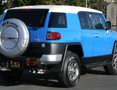 FJ Cruiser - GSJ15W - Pieces: 3 - Pipe Size: 60mm - Tail Size: 98mm (x4) - Weight: 22.1kg - Tail Type: Titanium Blue - GVE