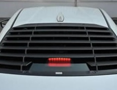 TRD - REAR WINDOW LOUVER