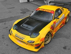 Pan Speed - Mazda RX7 FD3S AERO Parts