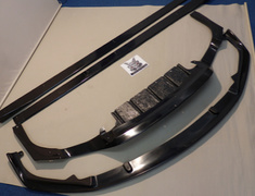 RC F - USC10 - Front Lip Spoiler + Side Splitters + Rear Under Diffuser - Construction: FRP - 3P Set