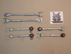 GT-R - R35 - KSN321 - Nissan GTR R35 Rear Circuit Link Set