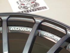 ADVAN Racing RT  18 - 7.5 - Dark Gun Metalic - 5H - 114.3 + 48