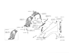 Elgrand - E52 - Fender Front LH - Category: Exterior - 63101-1JB0B