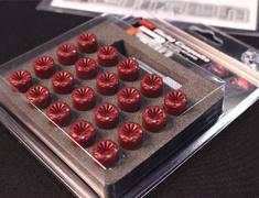 Nissan - M12 x P1.25 - Red - 20pcs - CIF3R