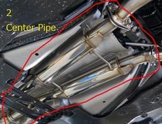 2 Center Pipe