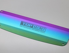 Top Secret - ENGINE COVER TITANIUM PLATE