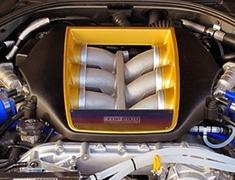 Top Secret - ENGINE COVER TITANIUM PLATE