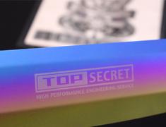 GT-R - R35 - Material: Titanium - Colour: Gold - TSECTP-GOLD