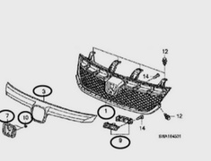 Honda - OEM Parts - Stream RSZ RN6/RN8