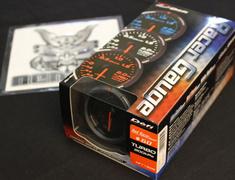 Turbocharged - DF11505 - Boost - -100kPa to +200kPa Red