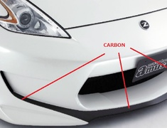 Amuse - Carbon Mix 370 Vestito Aero Kit