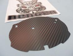 Prius - ZVW30 - Emblem Base - Front Carbon