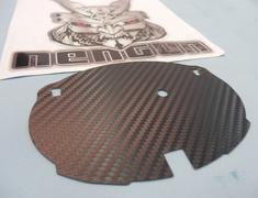 Emblem Base - Rear Carbon