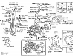 Toyota - OEM Parts - Dyna (2001)