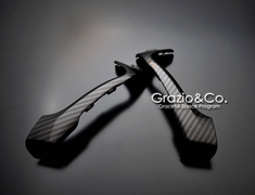 Carbon Look Door Grip Ornament SET