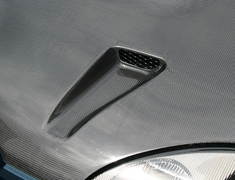 Monster Sport - Twin Charge Carbon Hood Type 2 for Cappuccino