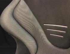 RS-G GK SL/BK Interior - Fixed Seat Kamui × Shining Mesh silve