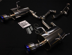 Impreza WRX STI - GVB - Pieces: 4 - Pipe Size: 65mm-54mm(x2) - Tail Size: 124mm(x2) - Body Type: S304 - Tail Type: SSR (Supe