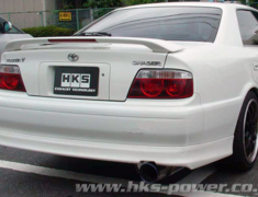 Cresta - JZX100 - Pieces: 3 - Pipe Size: 75mm - Tail Size: 124mm - Body Type: S304 - Tail Type: SSR (Super Turbo Muffl